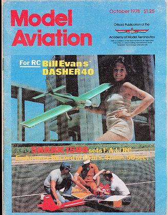 Model Aviation (Oct. 1978) Vol. 4, No. 10