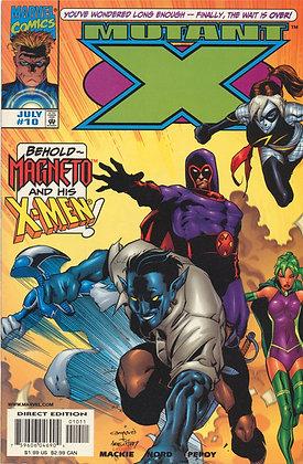 Mutant X, #10 - 1999