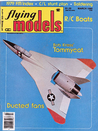 Flying Models (March 1980)