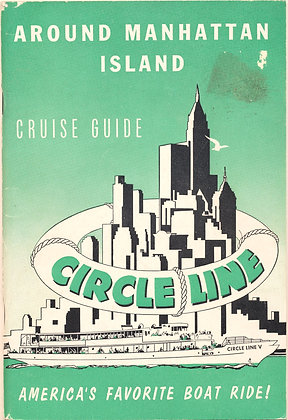 MANHATTAN ISLAND Cruise Guide 1957