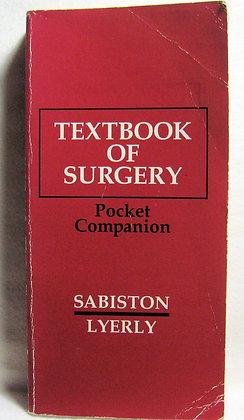 Textbook of Surgery: Pocket Companion 1992