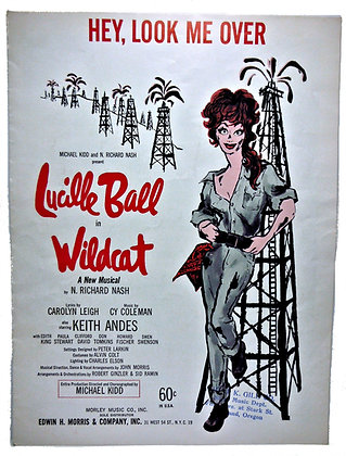 HEY, LOOK ME OVER Lucille Ball 1960
