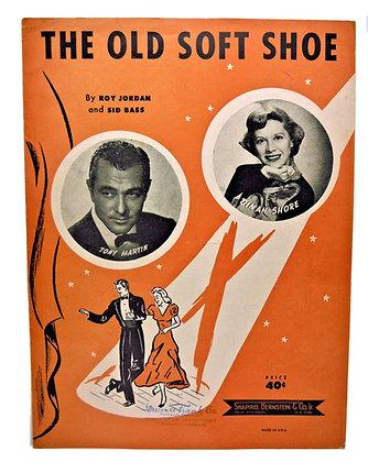 OLD SOFT SHOE Tony Martin & Dinah Shore 1951