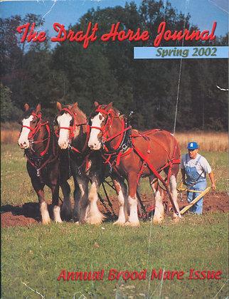 Draft Horse Journal Spring 2002