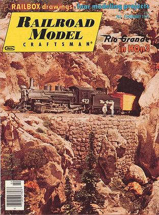 Railroad Model Craftsman, February 1976