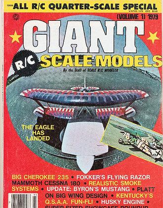 Scale R/C Modeler (Volume 1) 1979 GIANT Scale Models