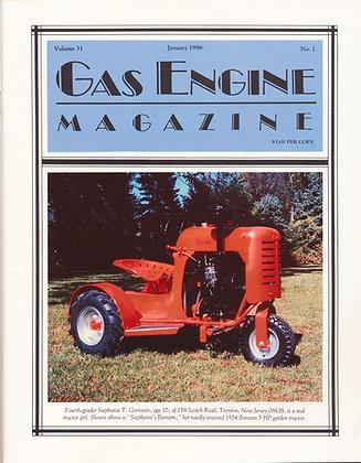 Gas Engine Mag.  January 1996
