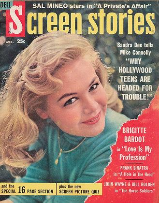 Screen Stories, August 1959