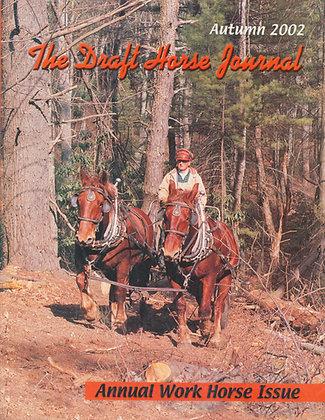 Draft Horse Journal Autumn 2002