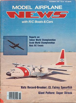 Model Airplane News (November 1980)