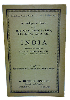 Bibliotheca Asiatica XLVI, No. 602