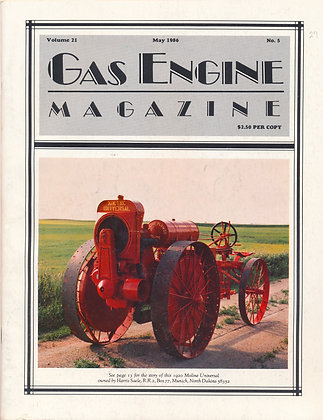 Gas Engine Mag.  May 1986