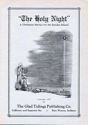 Holy Night (A Christmas Service) 1915