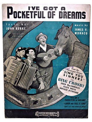 I've Got a Pocketful of Dreams with Bing Crosby 1938