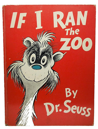IF I RAN the ZOO by Dr. Seuss (1st Edition) 1950