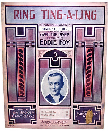 RING TING-A-LING presenting Eddie Foy 1912