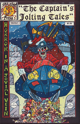 Captain's Jolting Tales, #3 Signed, 1992