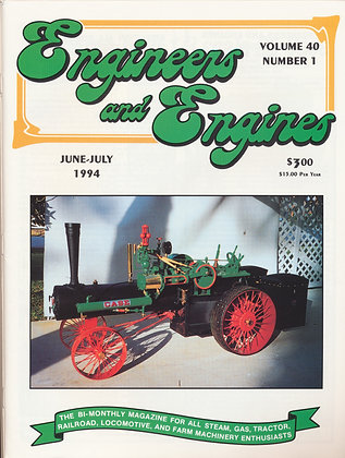 Engineers & Engines, June-July 1994