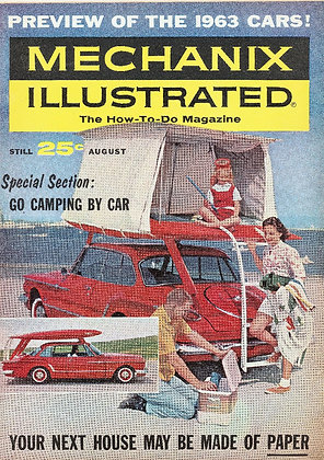 Mechanix Illustrated August 1962