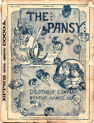 The Pansy (January 1888)