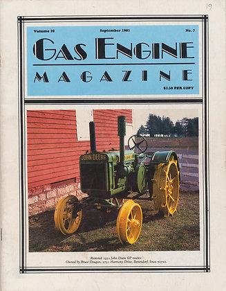 Gas Engine Mag.  September 1985