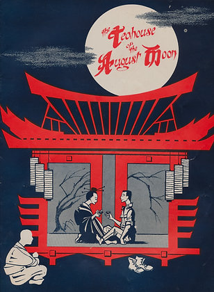 Teahouse-of-the-August Moon Meredith (play souvenir)