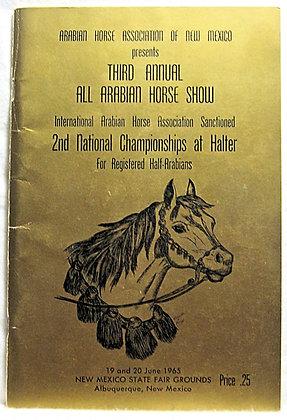 Arabian Horse Assoc. New Mexico 1965