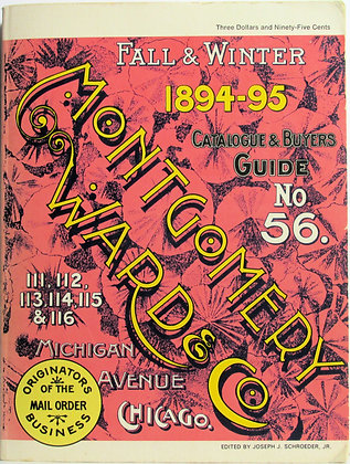 Montgomery Ward & Co.: 1894-95 Catalogue