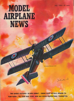 Model Airplane News July 1964