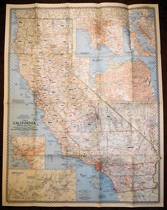 Nat. Geographic California 1954