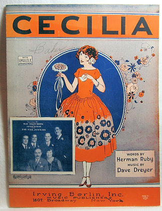 CECILIA (Ukulele) 1925