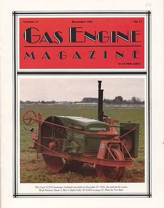 Gas Engine Mag.  December 1987