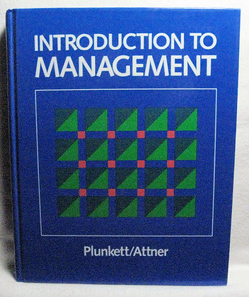 Introduction to Management by Plunkett 1983