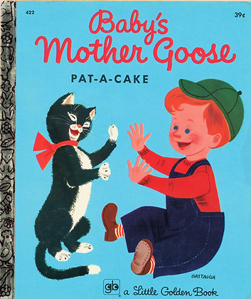 Baby's Mother Goose Pat-A-Cake 1972