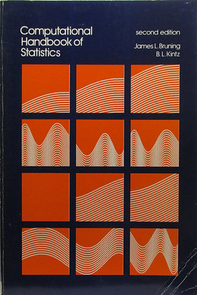 Computational Handbook of Statistics by (2nd Ed.) Bruning 1977