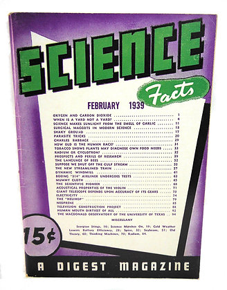 Rodale Science Facts February 1939