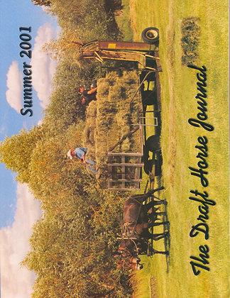 Draft Horse Journal Summer 2001