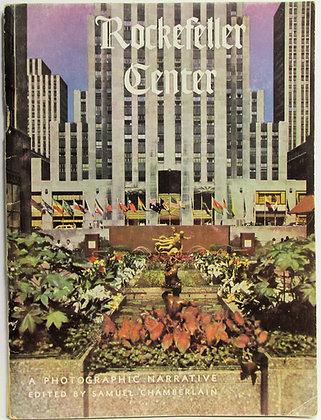 ROCKEFELLER CENTER: A Photographic Narrative (New York) 1956