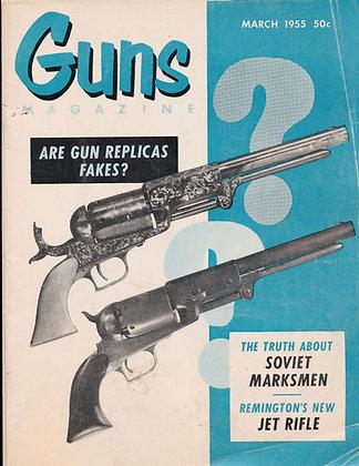 Guns, March 1955