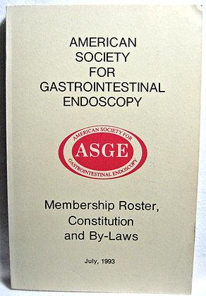 Society For Gastrointestinal Endoscopy 1993