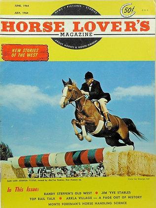 Horse Lover's Magazine June-July, 1964