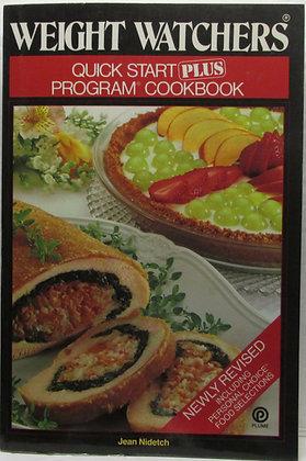 WEIGHT WATCHERS Quick Start Plus Program Cookbook