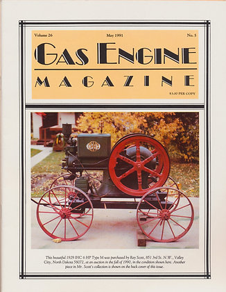 Gas Engine Mag.  May 1991