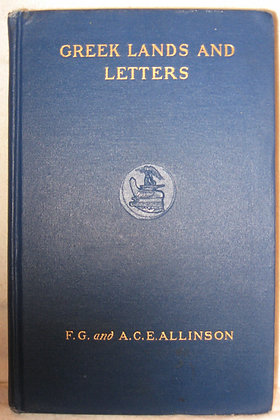 GREEK LANDS & LETTERS 1909 (U.S.S. MINNESOTA & U.S.S. ARGONNE Navy Battleships)