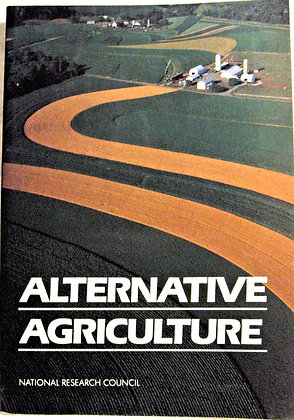 Alternative Agriculture National Research 1989