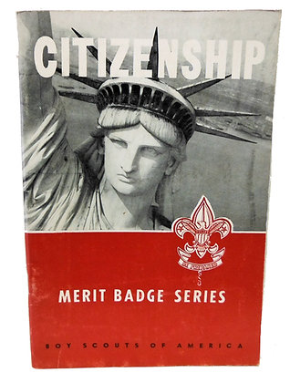 Citizenship Boy Scouts 1961