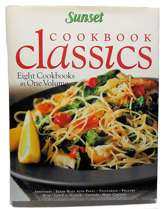 Sunset Cookbook CLASSICS (8 cookbooks in one volume) 2000