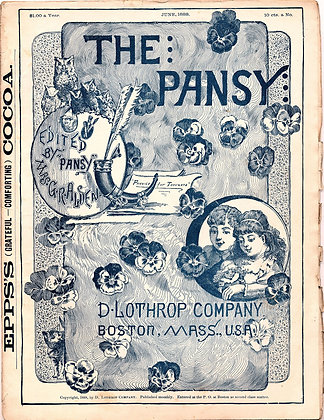 The Pansy Magazine June 1888