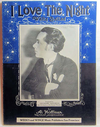 I Love The Night (Waltz Ballad) 1925