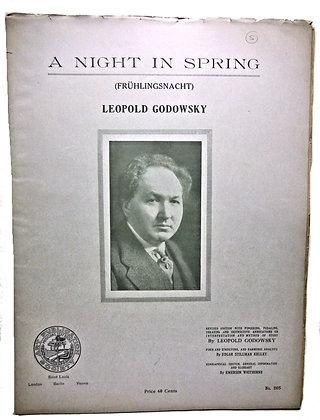Night in Spring Godowsky 1915